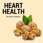 heart healthy with walnuts